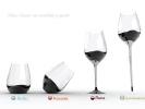 Четыре бокала в одном: для воды, вина, шампанского и коньяка